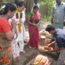 南インド各地(貧しい人びとのために家を建設中)