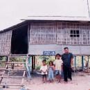 カンボジア各地(家の建設)